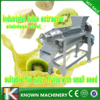 Making Machine Automatic Orange Juice/Double Screw Fruit Squeezing Machine