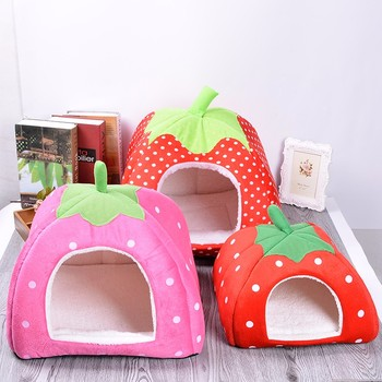 Lovely Strawberry dog house