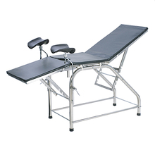 Portable Stainless Steel Obstetric Gynecological Ob Gyn Exam Table