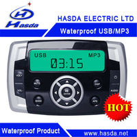 Water resistant mortorbike motorcycle MP3 radio player motorcycle fm radio waterproof H-806