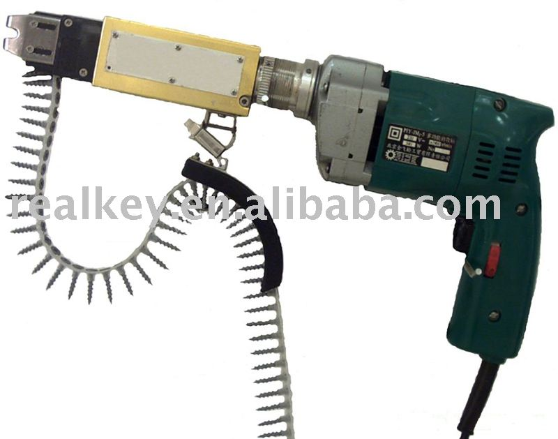 Auto feed screwdriver - electric screw gun