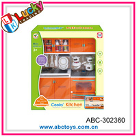 Newest plastic cooking play set toy for baby
