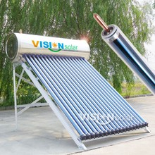 Anti-arrosion stainless steel tank solar hot water boiler