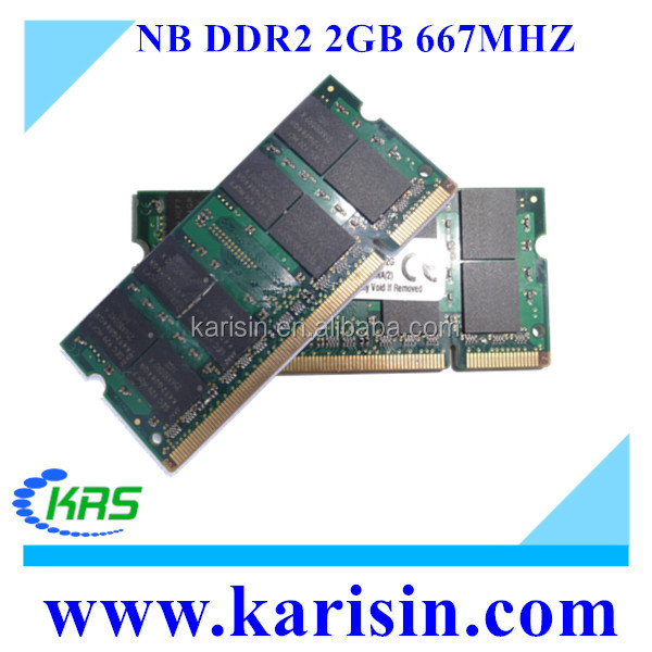 Ram 667mhz PC5300 ddr2 2gb sodimm for laptop & notebook