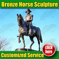 Brand new horse statue scotland made in China
