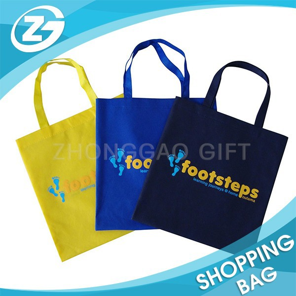 Promotional Gift Packing Stitched Folded Non Woven Tote Bag