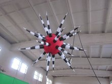 New Brand Creative Event Decoration/Party Supply inflatable illuminated LED star