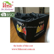 BSCI Factory Made 210T Waterproof Bike Basket Cover for Promotion