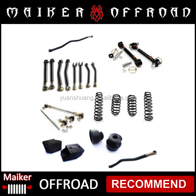 suspension lift kits 2.5/3/4 inch for jeep wrangler lift kit