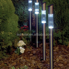 Colorful Stainless Path Solar Garden Light For Outdoor Yard Decoration