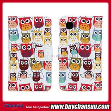 Cute cartoon leather case for LG L40