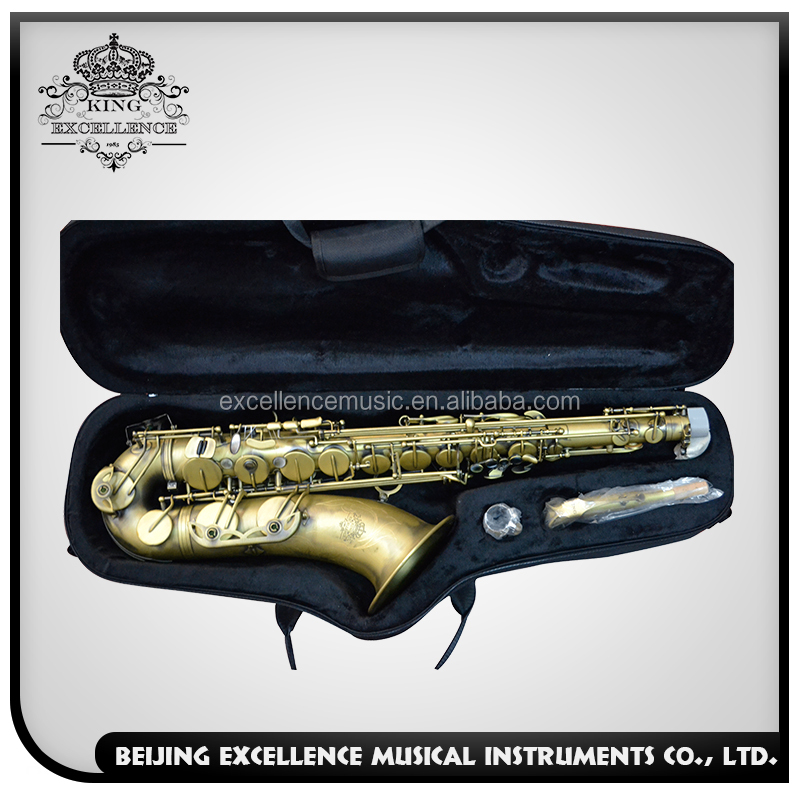 Antique tenor saxophone handmade in taiwan at cheap price