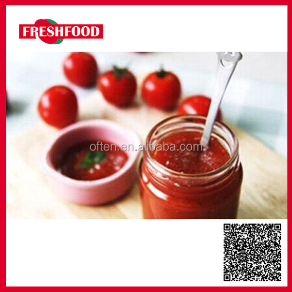 2016 best selling 100% purity canned tomato paste/tomato sauce/ketchup