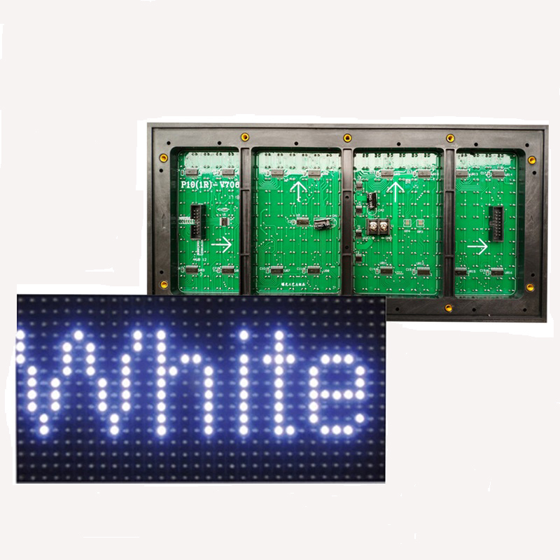 High brightness <strong>P10</strong> 1White outdoor waterproof programmable <strong>led</strong> <strong>display</strong> panels 32*16 dots <strong>led</strong> sign for price tag