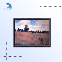 Canvas Support Base and Yes Frame Abstract Oil Painting landscape on canvas