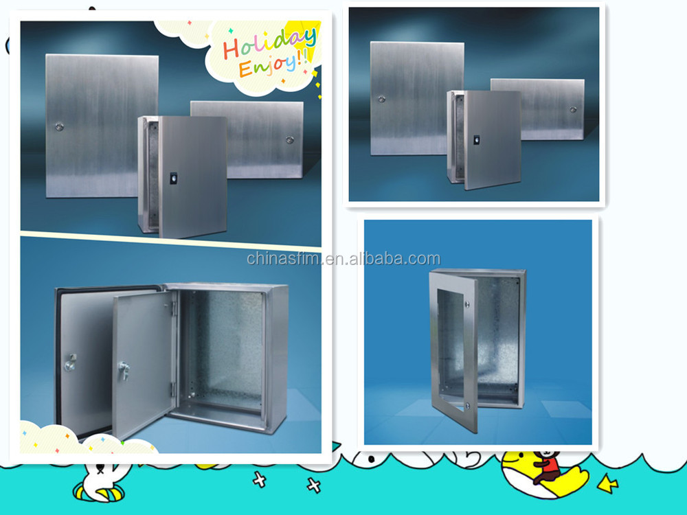 TIBOX electrical stainless steel wall mounted weatherproof enclosures UL