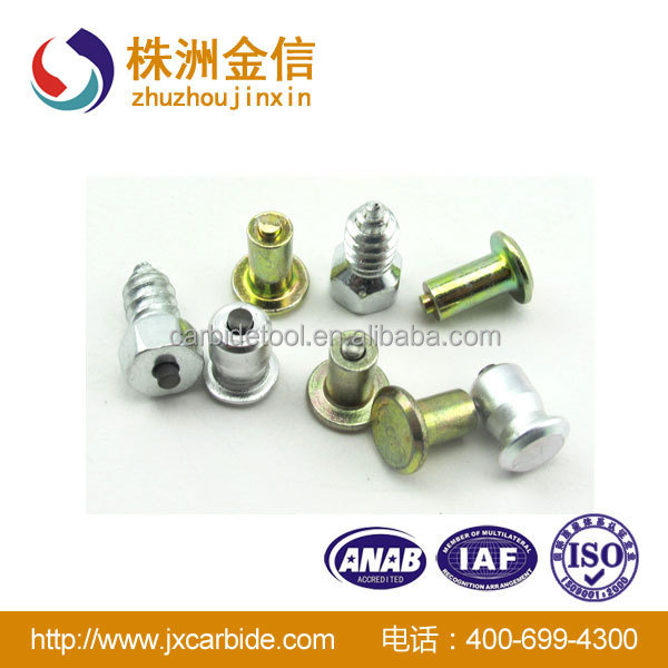 Tungsten Cemented Carbide Tired Studs From Factory Direct with Low Price