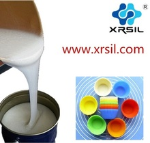 Food Grade liquid RTV-2 Silicone Rubber for cake molds making