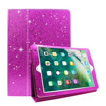 fashion glittering bling tablet case cover stand holder case for ipad air