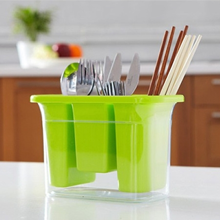 J469 Hot sale Chopsticks holder plastic storage box kitchen shelf