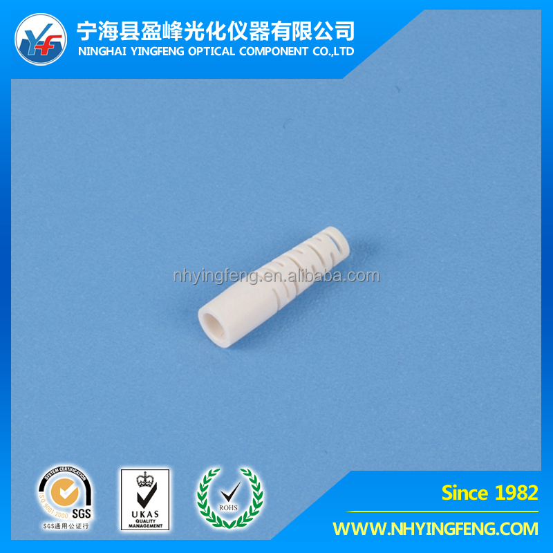 FTTH manufacturer online shopping china supplier SC/FC/ST/LC/MU LC Fiber optic connector 2.0-3.0 White Boot 19.3mm