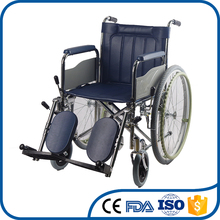 Factory direct supplier anti-aging plastic footplate nursing care wheelchairs