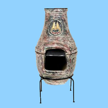 Chiminea Stand Grill Outdoor outside fire pit