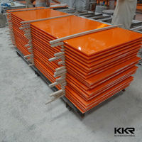 Hot color artificial marble polystone solid surface