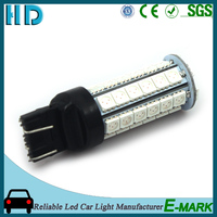 2016 Hot selling T207443 led high power auto 5050 led, t20 car turn light/5050 stop lamp
