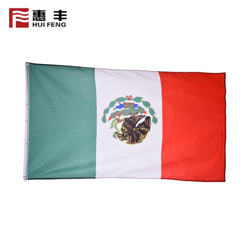 Factory price country flag for world cup for soccer fans mexico