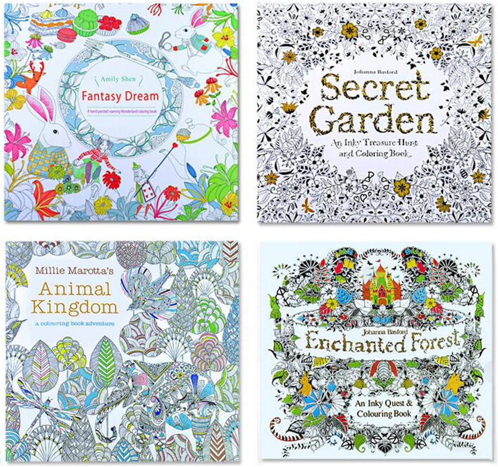 2016 Best Selling Hand Painting Adult Coloring Book printing,Wholesales Coloring Book Mystery Garden,Coloring Books For Kids