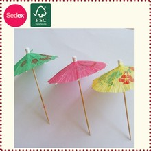 parasols Drink Umbrellas toothpick for party decoration