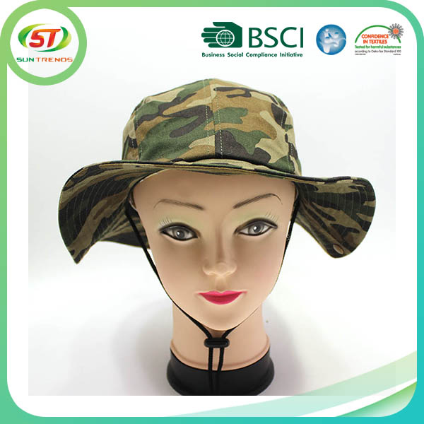 wholesale bucket hats pretty green embroidery bucket boonie custom hat
