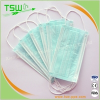 Hot new products for 2016 bird flu defensive white disposable mouth cover