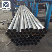 "1 3/4"" ERW black round steel tube /welded steel pipe/mild steel pipe Q235 A53 SS400 ISO certification"
