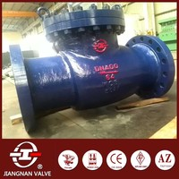 oil gas chemical pipe check valve motorized