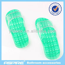 Bathroom shower foot massage slippers