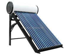 compact pressurized solar water heater/solar heat system