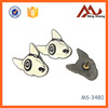 Factory 3D metal anchor pin badge/souvenir dog badges