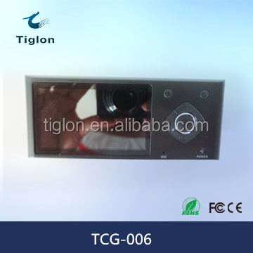 Tiglon TCG-006 HD 720P Dual Lens Car DVR Camera
