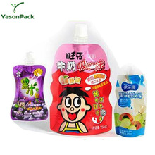 high quality stand up milk packaging with beautiful printing for packing