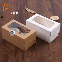 wholesale cupcake boxes paper cheese cake box with window