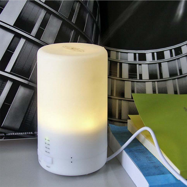 Air Humidifier Essential LED USB Oil Ultrasonic Aromatherapy Aroma Diffuser