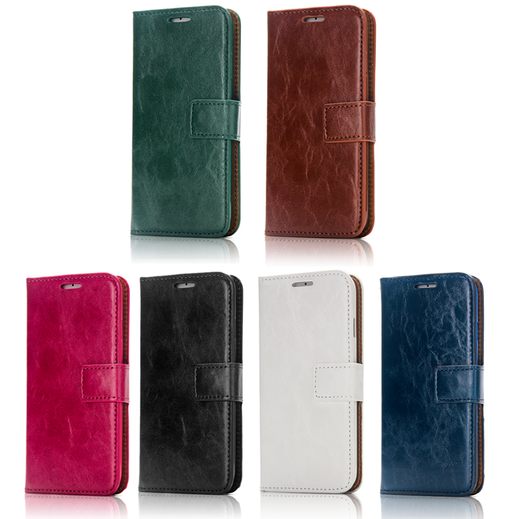 Detachable 2-in-1 Leather Wallet Case with Card Holders for iphone 7