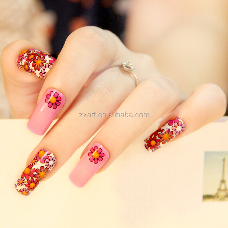 nail art letter sticker