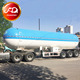 Hot sale fuwa axle lpg tanker widely used lpg trailers for sale