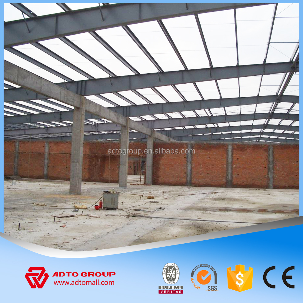 Light Weight Warehouse Tube Frame,Metallic Structures For