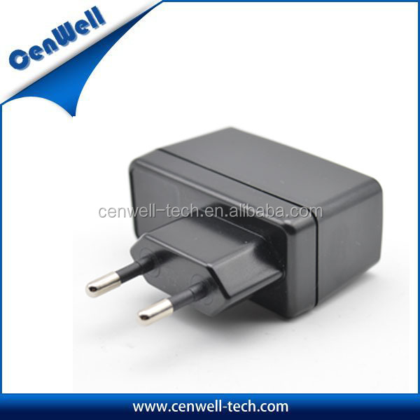switch white UK EU US AC/DC power adapter ,wall mounted transformer 5V 2A