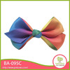 Well quality beautiful handmade colorful ribbon decoration women accessories