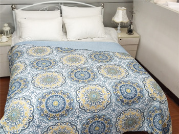 2017 wholesale popular Printing bedspreads
